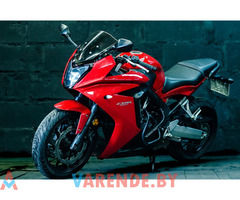 Аренда мотоцикла Honda CBR 650 F в Минске