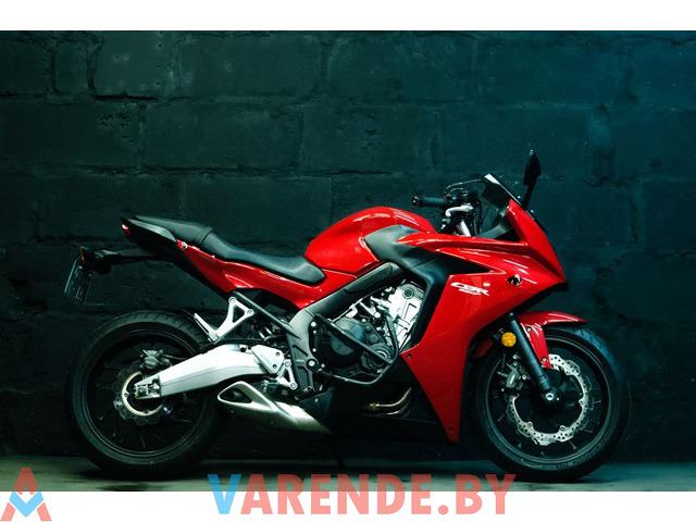 Аренда мотоцикла Honda CBR 650 F в Минске - 2/4