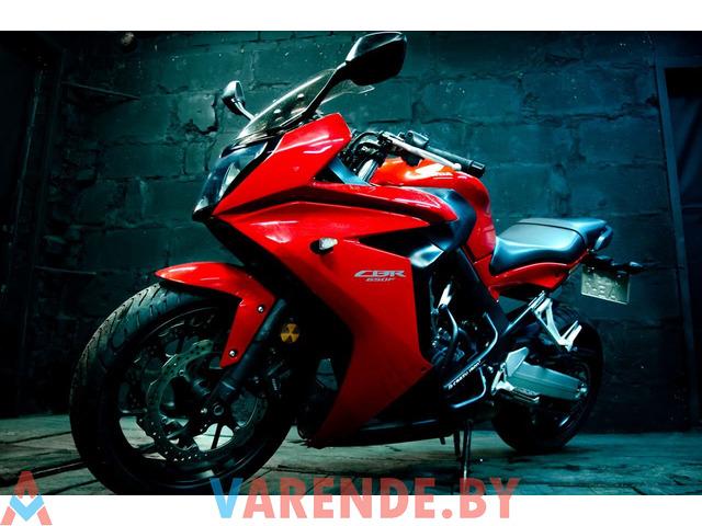 Аренда мотоцикла Honda CBR 650 F в Минске - 3/4
