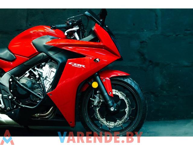 Аренда мотоцикла Honda CBR 650 F в Минске - 4/4