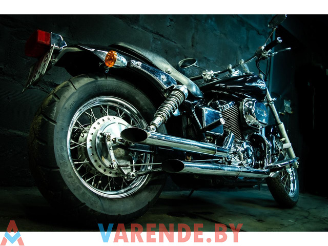 Аренда мотоцикла Honda Shadow Spirit 750 (VT 750) в Минске - 3/4