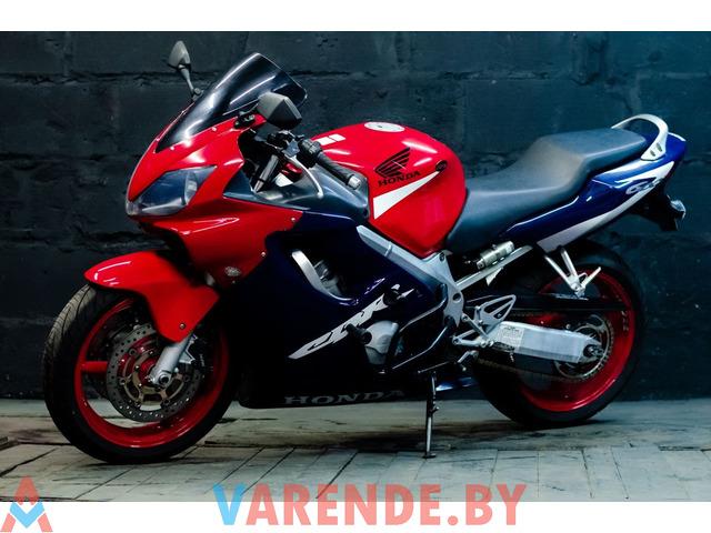 Аренда мотоцикла Honda CBR F4i в Минске - 4/4