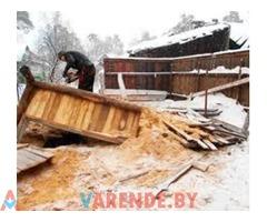 Демонтаж,вывоз строительного мусора в Витебске