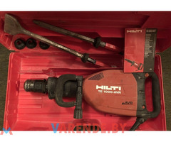 Электрический отбойный молоток Hilti TE1000 AVR.Аренда Прокат Орша.