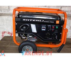 Бензогенератор Shtenli Pro S 4400 электростартер. Аренда Прокат Орша.