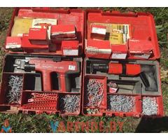 Монтажный пистолет Hilti DX-450. Аренда Прокат Орша.