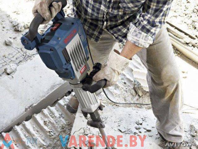 Прокат бетонолома (отбойного молотка) Bosch GSH 16-30 в Орше - 2/3