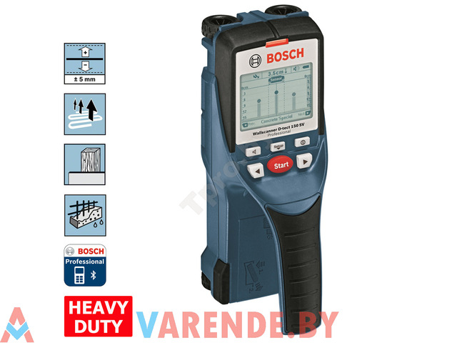 Аренда детектора проводки D-tect 150 SV Bosch - 1/1