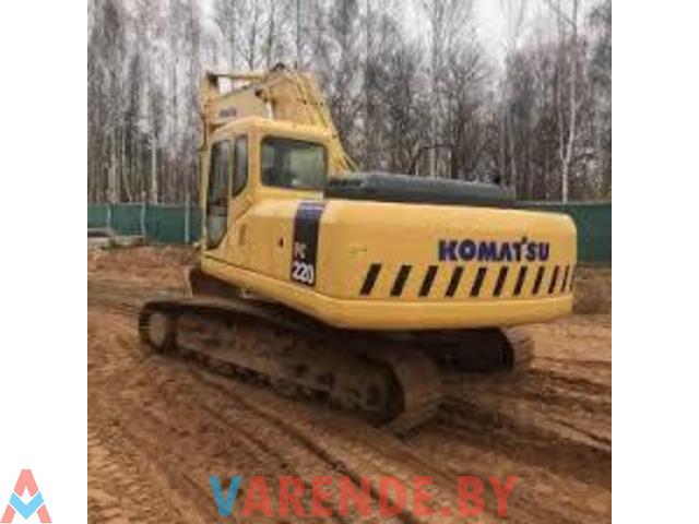 гусеничный экскаватор Komatsu PC220-7 - 1/2