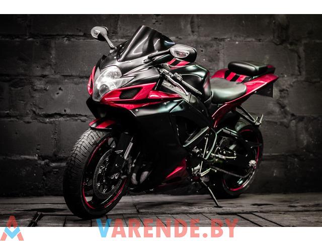 Аренда мотоцикла Suzuki GSX-R 750 в Минске - 1/4