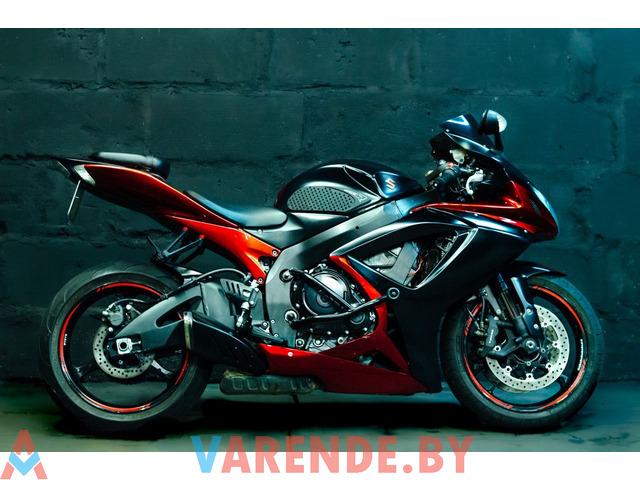 Аренда мотоцикла Suzuki GSX-R 750 в Минске - 4/4