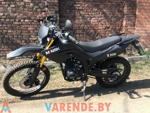 Аренда( прокат) мотоцикла Minsk X250 в Минске. - 1/4