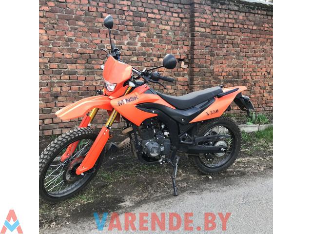 Аренда( прокат) мотоцикла Minsk X250 в Минске. - 3/4