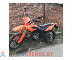 Аренда( прокат) мотоцикла Minsk X250 в Минске.