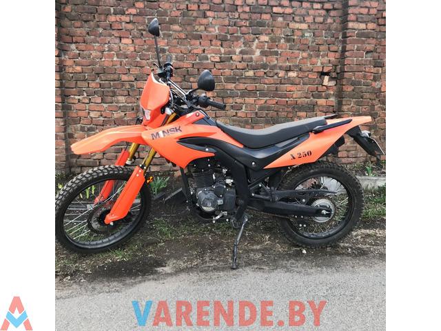 Аренда( прокат) мотоцикла Minsk X250 в Минске. - 4/4