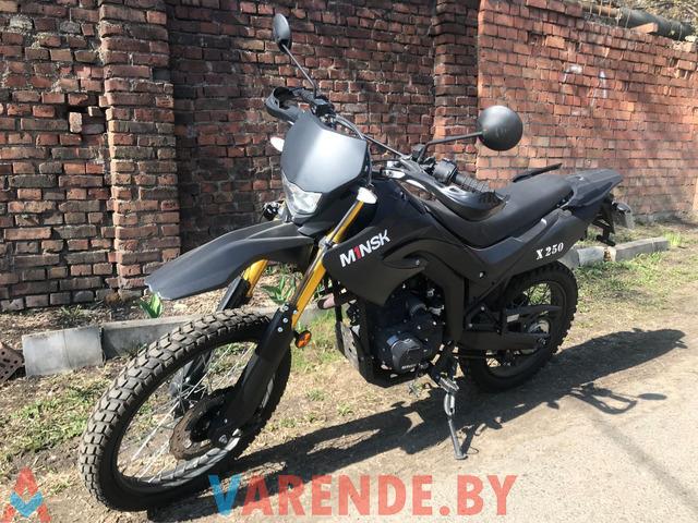 Аренда( прокат) мотоцикла Minsk SCR250 в Минске. - 3/4