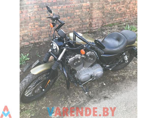 Аренда( прокат) мотоцикла Harley Davidson Sportster XL1200 в Минске. - 1/4
