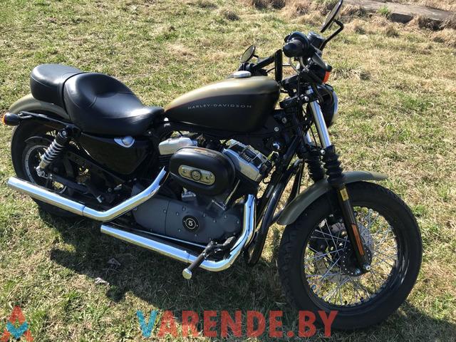 Аренда( прокат) мотоцикла Harley Davidson Sportster XL1200 в Минске. - 2/4