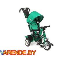 Детский трехколесный велосипед с ручкой Capella Action Trike II