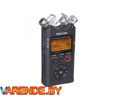 Прокат рекордер звука Tascam DR-40 в Минске