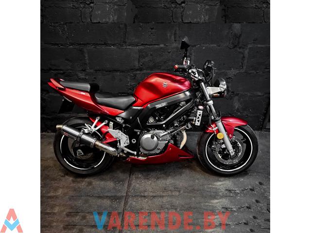 Аренда мотоцикла Suzuki SV 650 Naiked - 1/4