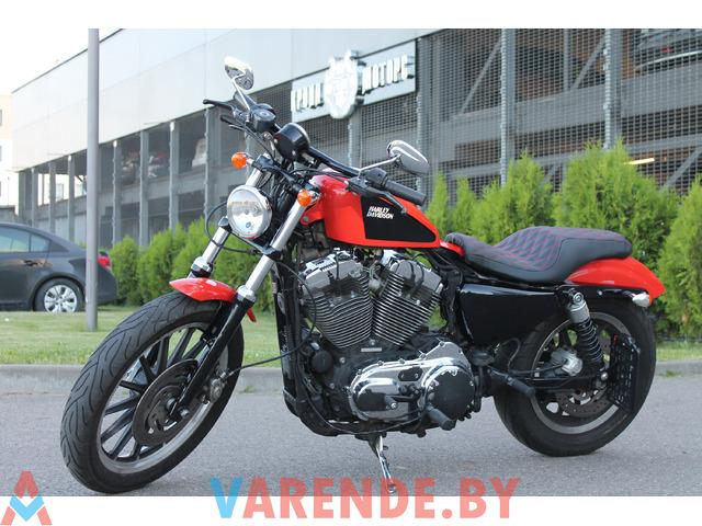 Аренда мотоцикла Harley-Davidson Sportster 1200  в Минске - 1/3