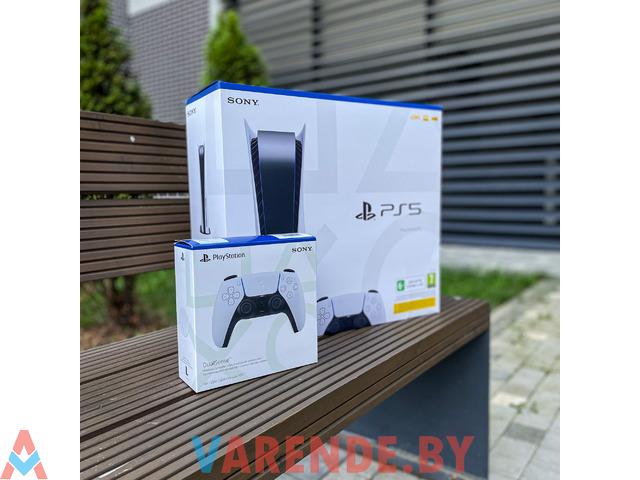 Прокат игровой приставки Sony PlayStation 5 - 1/4