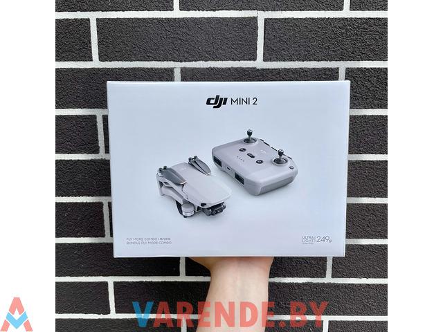 Прокат квадрокоптеров DJI Mini 2 - 1/2