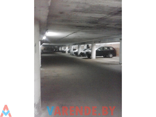Машиноместо на подземном паркинге район Зеленого Луга ул Гамарника 9/5 Охрана, въезд круглосуточно - 2/2