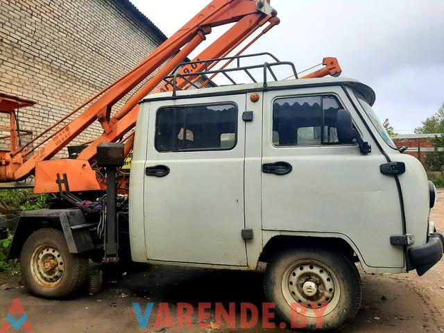 Автовышка на базе УАЗ 3909 - 2/3