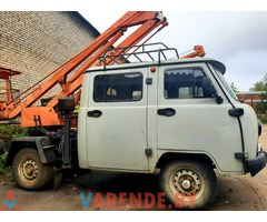Автовышка на базе УАЗ 3909