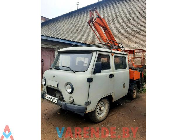 Автовышка на базе УАЗ 3909 - 3/3